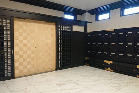 さいたま市内・K納骨堂/建具・家具工事(2020年11月)